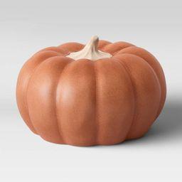 Large Ceramic Pumpkin Orange - Threshold™ | Target