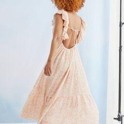 Long Flared Dress   H&M (US)