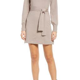 Tie Harder Long Sleeve Sweater Dress | Nordstrom