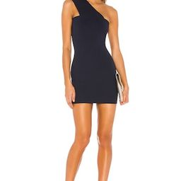 superdown Rockie One Shoulder Dress in Navy from Revolve.com   Revolve Clothing (Global)
