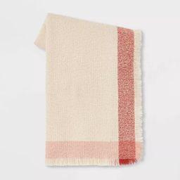 Acrylic Throw Blanket with Border Grid - Threshold™ | Target
