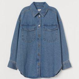 Denim Shirt Jacket   H&M (US)