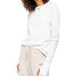 Free People Arden Solid Long-Sleeved T-Shirt   & Reviews - Tops - Women - Macy's   Macys (US)