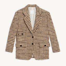 Houndstooth suit jacket   Sandro Paris (US)