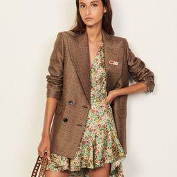 Short printed dress   Sandro Paris (US)