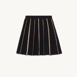 Short A-line knit skirt   Sandro Paris (US)