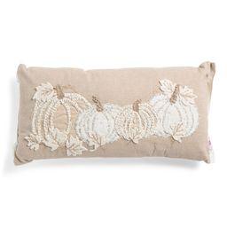 14x28 3 Pumpkins Pillow   The Global Decor Shop   Marshalls   Marshalls