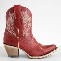 Embroidered Western Leather Boot | Buckle
