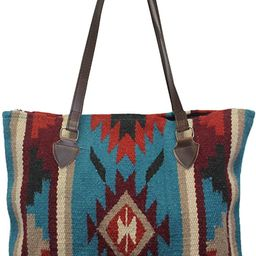 Southwest Boutique Wool Tote Purse Bag Native American Western Style Handwoven | Amazon (US)