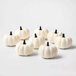 8ct Painted Pumpkins Halloween Decorative Sculpture Set - Hyde & EEK! Boutique™ | Target