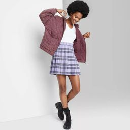 Women's Hooded Quilted Jacket - Wild Fable™ | Target