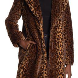 Leopard Faux Fur Coat   Nordstrom Rack