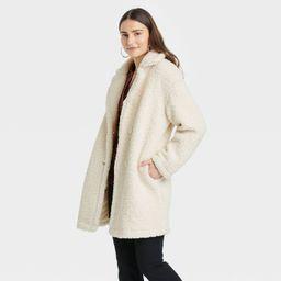 Women's Teddy Overcoat - A New Day™   Target