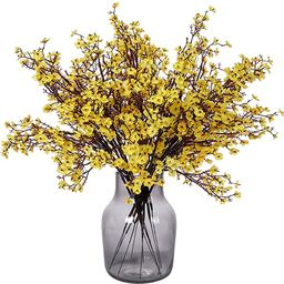 Momkids 6 Pcs Babys Breath Artificial Flowers Gypsophila Bouquet Bulk Fake Plastic Silk Flower Re...   Amazon (US)