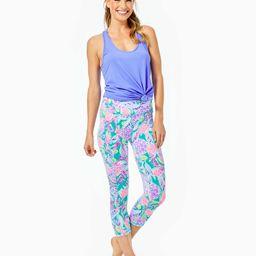 "UPF 50+ Luxletic 21"" Weekender High Rise Crop Legging | Lilly Pulitzer"
