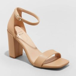 Women's Ema Square Toe Heels - A New Day™ | Target