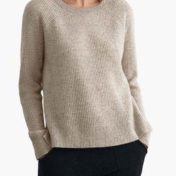 White + Warren Cashmere Thermal Sweatshirt | Madewell