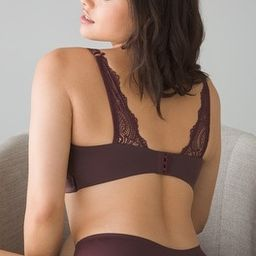 Luxe Lace Back Wireless Bra | Soma Intimates