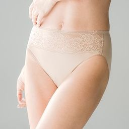 Microfiber with Lace High Leg | Soma Intimates