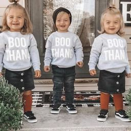 Boo Thang | Kids Halloween Shirt | Halloween Sweater for Kids | Shirts for Halloween | Pumpkin Sp... | Etsy (US)