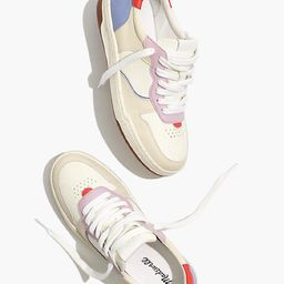Court Sneakers in Colorblock Leather and Nubuck | Madewell