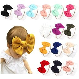 Toptim Baby Girl's Headbands and Bows for Newborn Infant Toddler Photographic Accessories (18 Pack-T   Amazon (US)