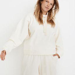 MWL Ribbed Funnelneck Sweatshirt | Madewell
