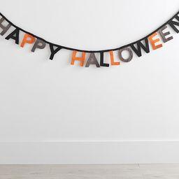 Happy Halloween Felt Garland | Pottery Barn Kids