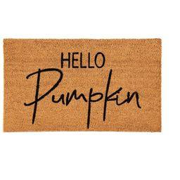 Hello Pumpkin Doormat   Target