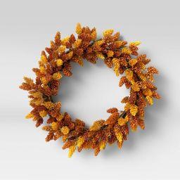 "18"" Artificial Hops Wreath - Threshold™ | Target"