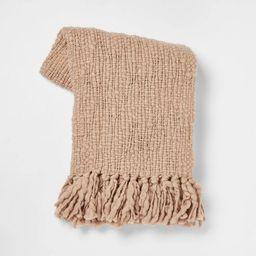 Chunky Woven Throw Blanket - Threshold™ | Target