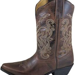 Smoky Mountain Boots | Madison Series | Women's Western Boot | 10-Inch Height | Snip Toe Leather | R | Amazon (US)