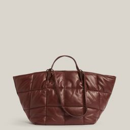 CONSCIOUS   Nadaline Quilted Tote Bag   £249.00   All Saints UK