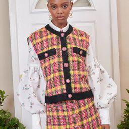 DREAM Darling Tweed Sleeveless Cardigan   Sister Jane (UK)