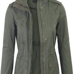 KOGMO Womens Military Anorak Safari Jacket with Pockets | Amazon (US)
