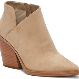 Womens Ankle Boots Pointed Toe Cutout Chunky Heel Boots Block Stacked Side Zipper Booties   Amazon (US)