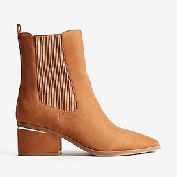 Faux Suede Booties   Express