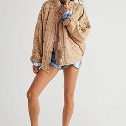 Dolman Quilted Knit Jacket | Free People (US)
