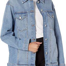 The Drop Women's Andrea Oversized Denim Jacket   Amazon (US)