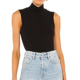 Sanctuary Essential Sleeveless Mock Neck Top in Black from Revolve.com | Revolve Clothing (Global)