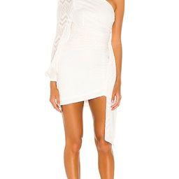 Lisa Mini Dress in White   Revolve Clothing (Global)