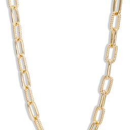 Textured Link Necklace | Nordstrom