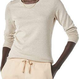Amazon Essentials Women's Lightweight Crewneck Sweater   Amazon (US)
