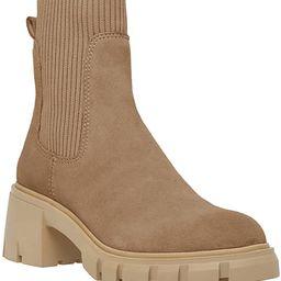 Womens Lug Sole Platform Ankle Boots Elastic Chunky Block Heel Non-Slip Combat Comfortable Chelse...   Amazon (US)