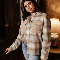 PREORDER - Lynne Shirt Jacket | Bohme