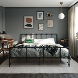 Viviana Platform Bed | Wayfair North America