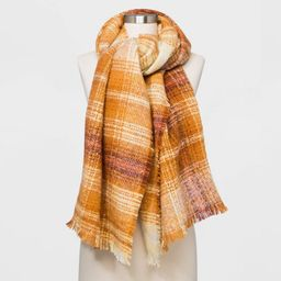 Women's Plaid Blanket Scarf - Universal Thread™   Target