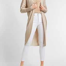 Ribbed Duster Cardigan | Express