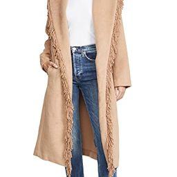 Linda Fringe Coat | Shopbop