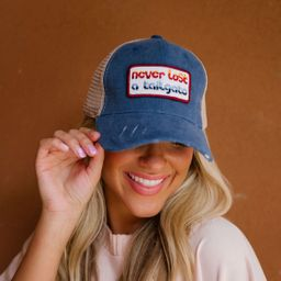 NEVER LOST A TAILGATE PATCH HAT   Judith March